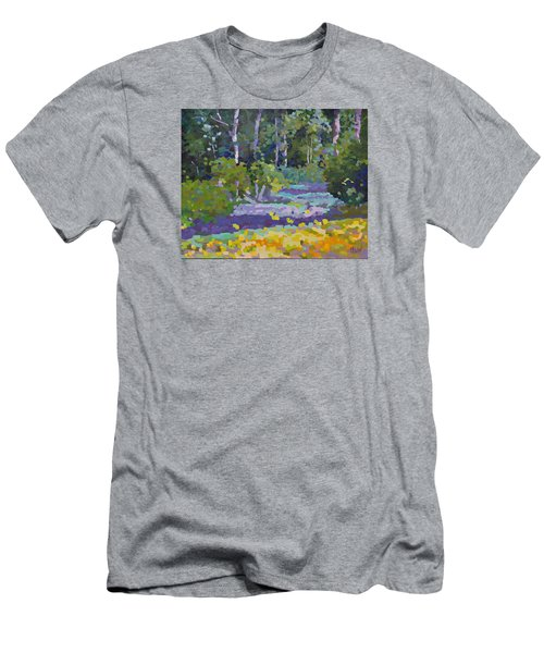Painting Pixie Forest Men's T-Shirt (Athletic Fit)