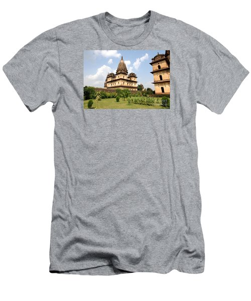 Palaces In Orccha Central India Men's T-Shirt (Athletic Fit)