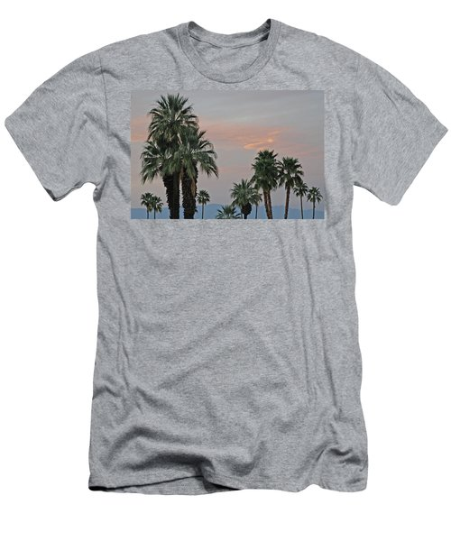 Palm Desert Sunset  Men's T-Shirt (Athletic Fit)
