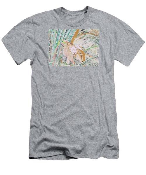 Palm Flowers Men's T-Shirt (Athletic Fit)