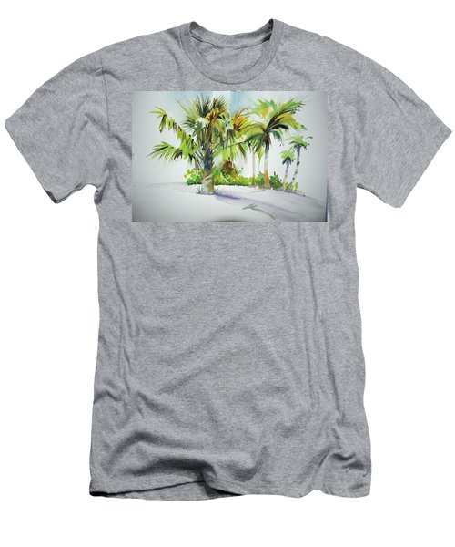 Palm Sunday Men's T-Shirt (Slim Fit) by P Anthony Visco