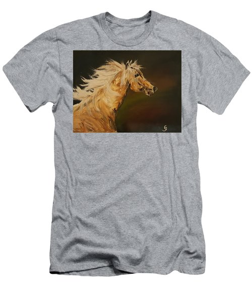 Palomino Running Wild                     85 Men's T-Shirt (Athletic Fit)