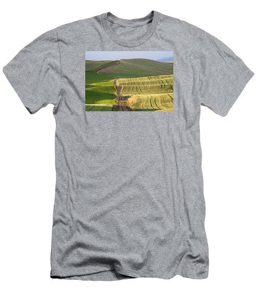 Palouse Backroads Men's T-Shirt (Athletic Fit)