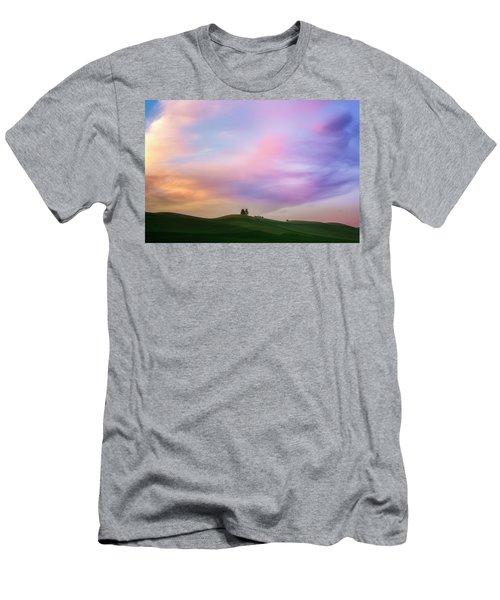 Palouse Cirrus Rainbow Men's T-Shirt (Athletic Fit)