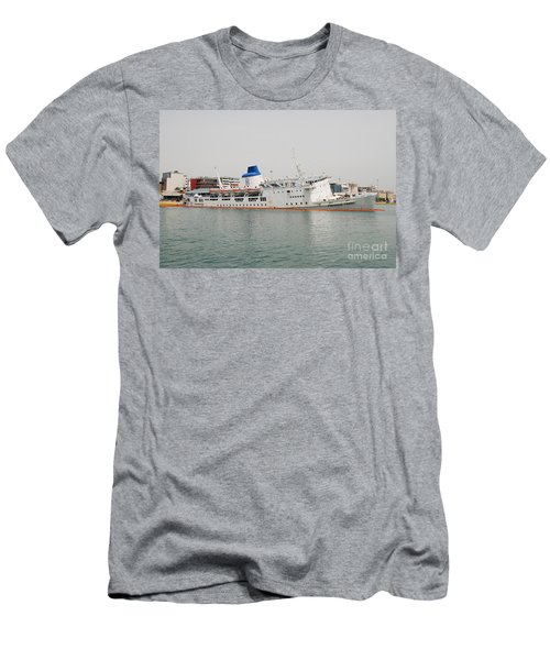 Panagia Tinou Ferry Sinking In Athens Men's T-Shirt (Athletic Fit)