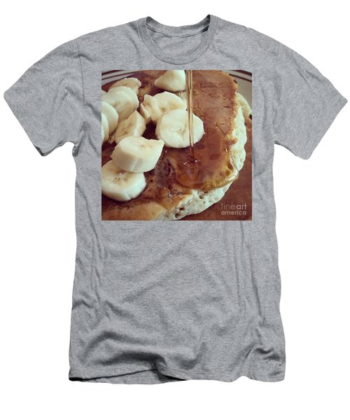 Pancakes  Men's T-Shirt (Athletic Fit)