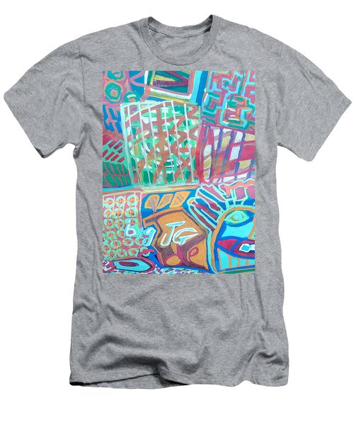 Panel Of Hand Painted Mondeo Men's T-Shirt (Athletic Fit)