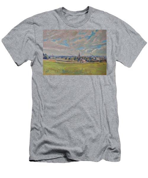 Panorama Maastricht Men's T-Shirt (Slim Fit) by Nop Briex