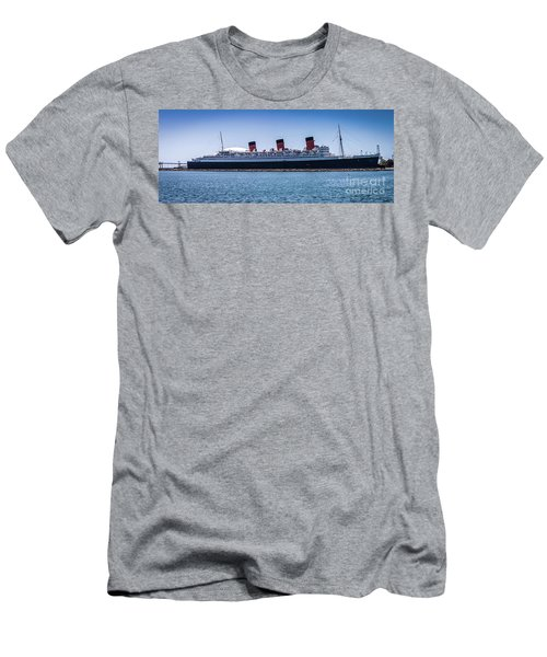 Panorama Of The Queen Mary Men's T-Shirt (Athletic Fit)