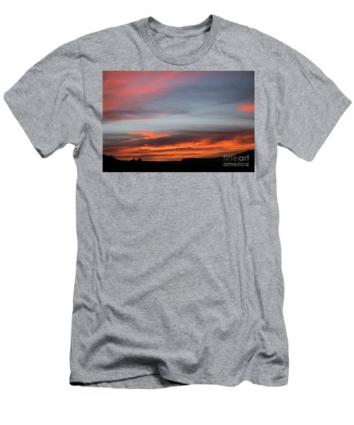 Panorama Point View Capital Reef Men's T-Shirt (Athletic Fit)