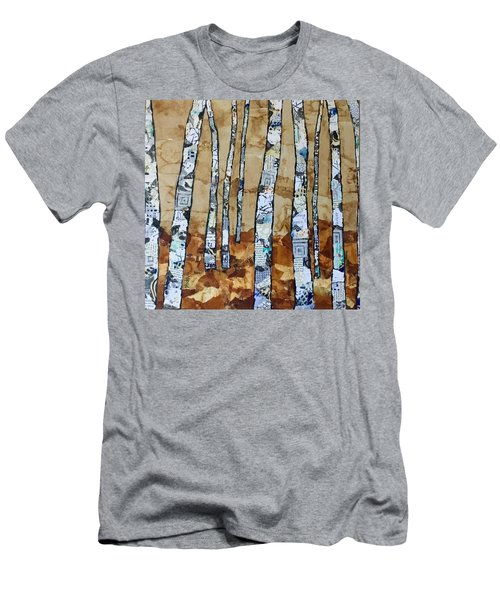 Paper Birch 3 Men's T-Shirt (Athletic Fit)