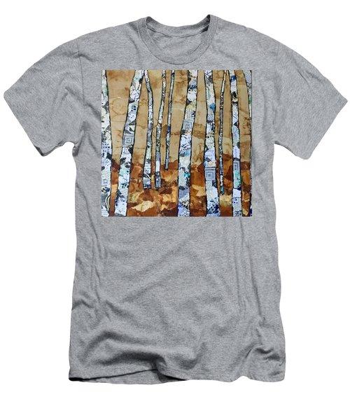 Paper Birch 3 Men's T-Shirt (Athletic Fit)