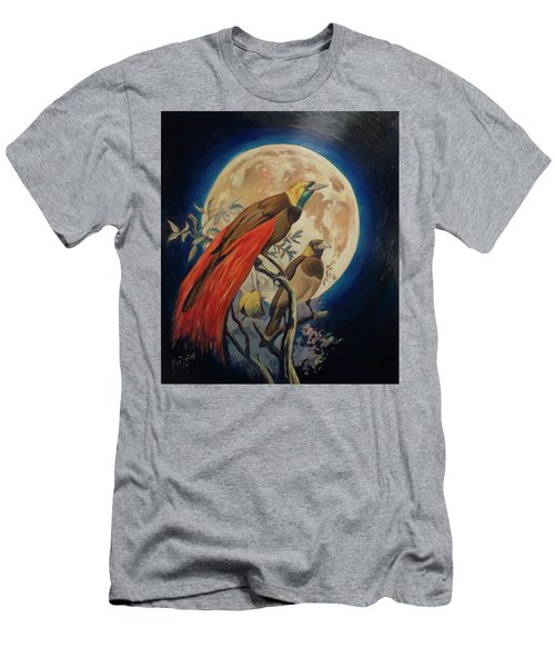 Paradise Birds Men's T-Shirt (Athletic Fit)