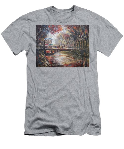Paris - 6 O' Clock In The Morning Men's T-Shirt (Athletic Fit)