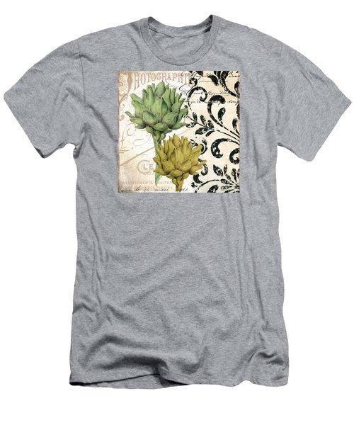 Paris Artichokes Men's T-Shirt (Slim Fit) by Mindy Sommers