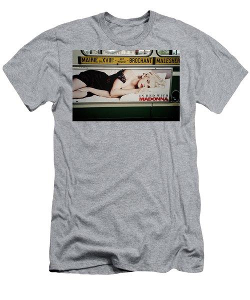 Men's T-Shirt (Athletic Fit) featuring the photograph Paris Bus by Frank DiMarco