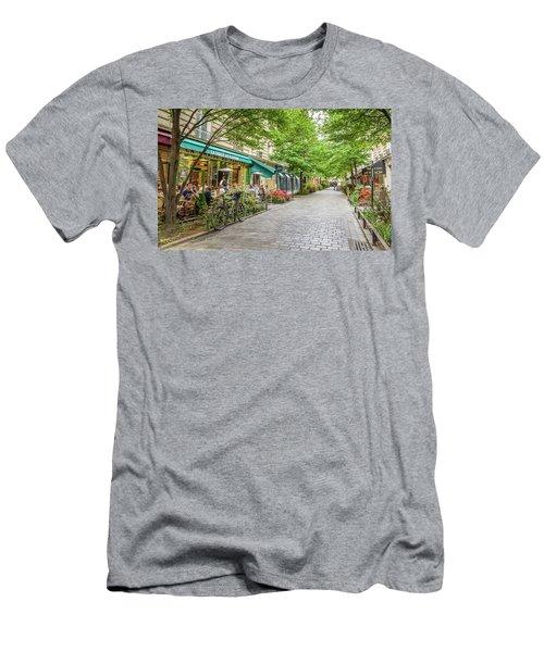 Paris In The Spring  Men's T-Shirt (Athletic Fit)