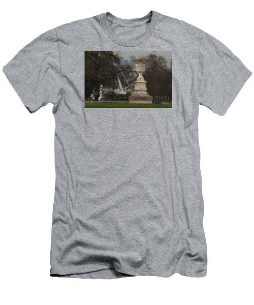 Men's T-Shirt (Slim Fit) featuring the photograph Paris Park by Katie Wing Vigil