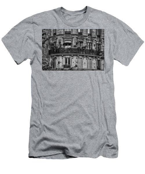 Parisian Apartment Men's T-Shirt (Athletic Fit)