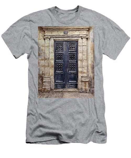 Parisian Door No.40 Men's T-Shirt (Athletic Fit)
