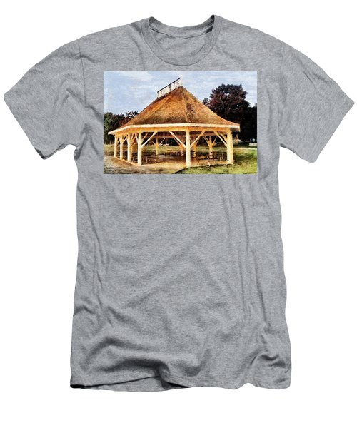 Park Gazebo Men's T-Shirt (Athletic Fit)