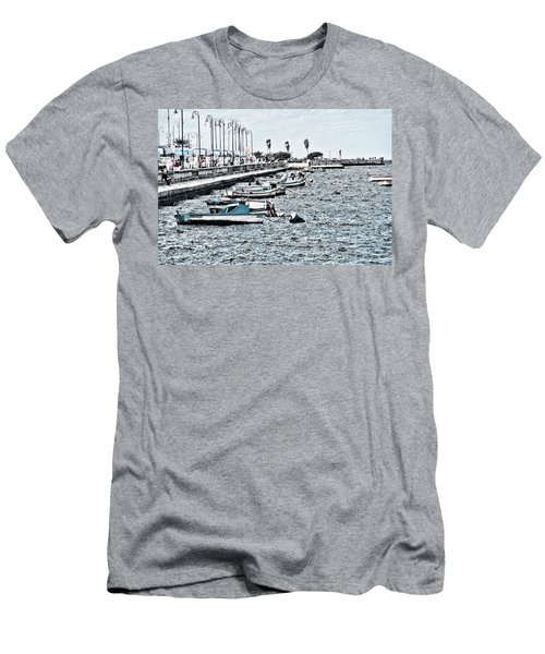 Parked And Waiting Men's T-Shirt (Athletic Fit)