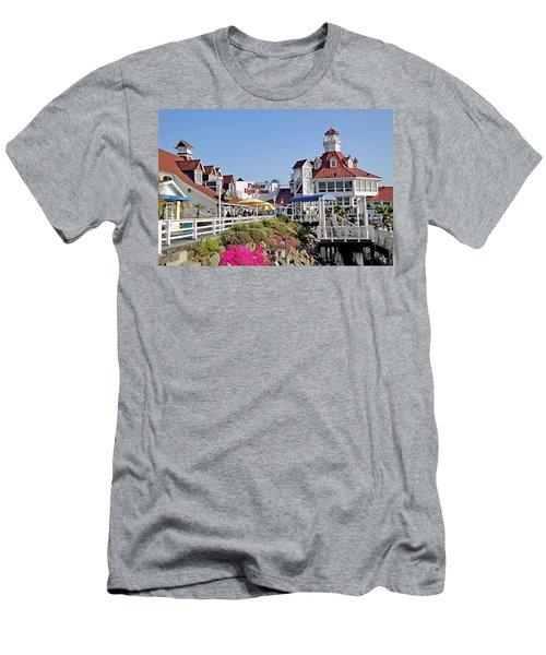 Parkers' Lighthouse Men's T-Shirt (Athletic Fit)