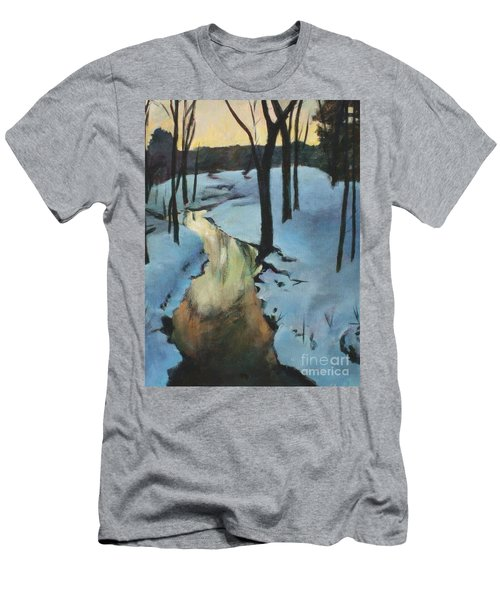 Parlee Farm Sunset Creek Men's T-Shirt (Athletic Fit)