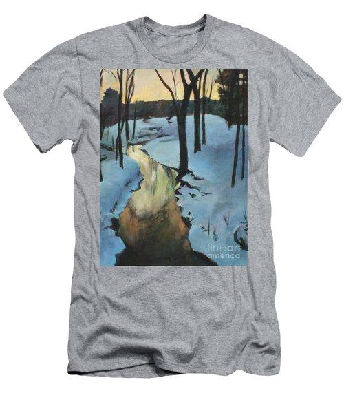 Parlee Farm Sunset Creek Men's T-Shirt (Athletic Fit)