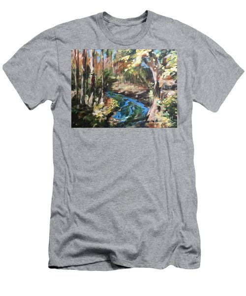 Parlee's Farm Fall Creek Men's T-Shirt (Athletic Fit)