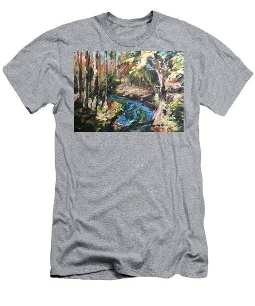 Parlee's Farm Fall Creek Men's T-Shirt (Athletic Fit)