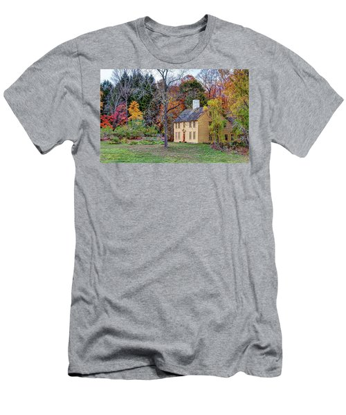 Parson Barnard House In Autumn Men's T-Shirt (Athletic Fit)