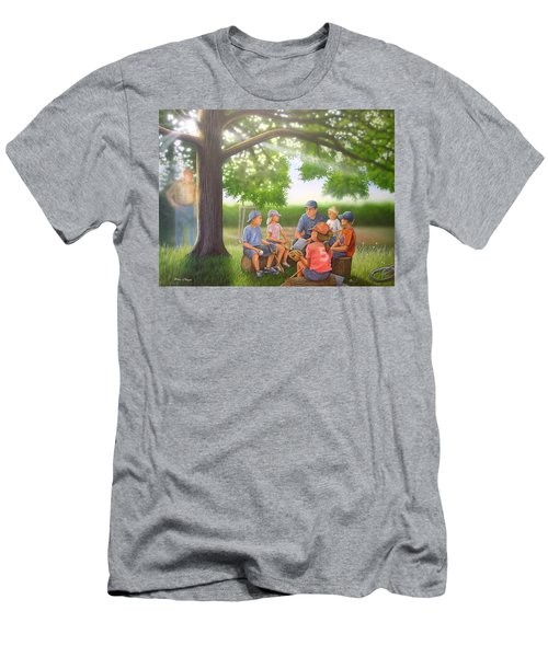 Pass It On - Baseball Men's T-Shirt (Athletic Fit)