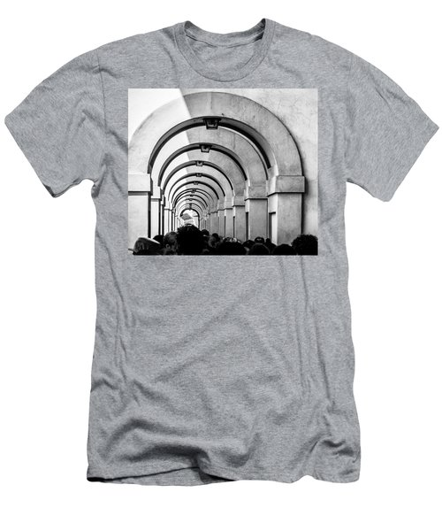 Passageway At The Arno Men's T-Shirt (Athletic Fit)