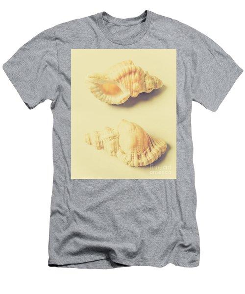 Pastel Seashell Fine Art Men's T-Shirt (Athletic Fit)
