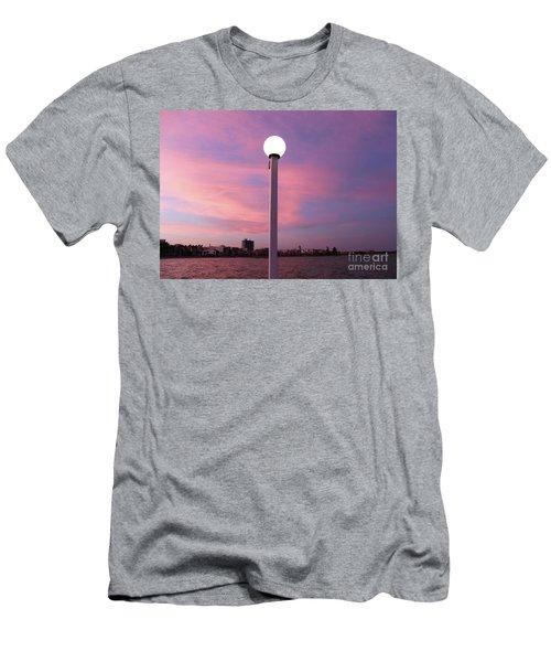 Pastel Skylight Men's T-Shirt (Athletic Fit)