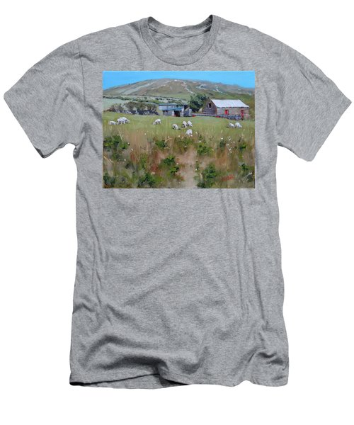 Pastures Of Ireland Men's T-Shirt (Athletic Fit)