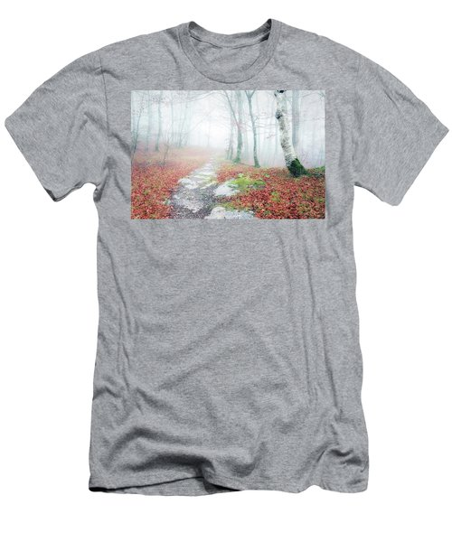 Path In The Forest Men's T-Shirt (Athletic Fit)