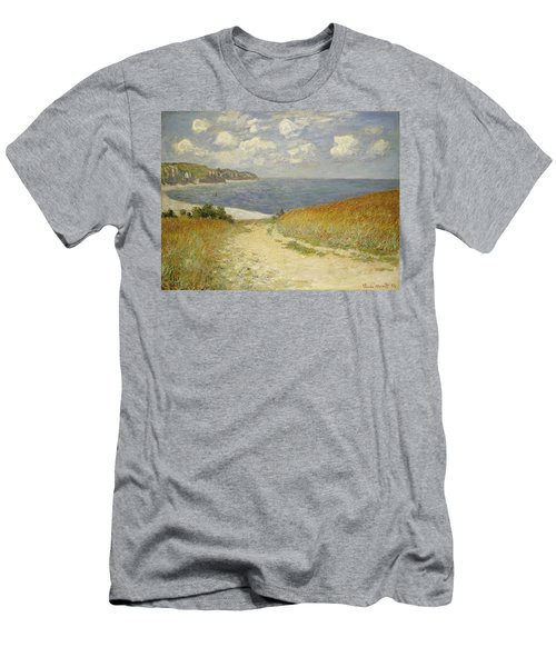 Path In The Wheat At Pourville Men's T-Shirt (Athletic Fit)