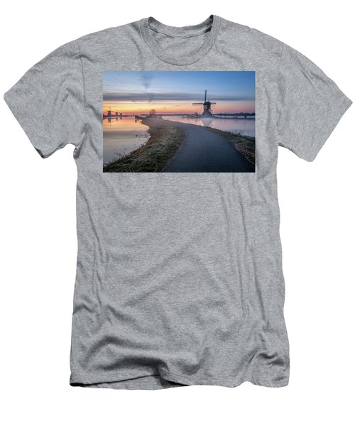 Path Through Windmill City Men's T-Shirt (Athletic Fit)