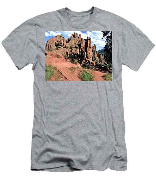 Path To Red Rocks Men's T-Shirt (Athletic Fit)