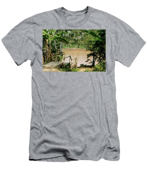 Path To The Amazon River Men's T-Shirt (Athletic Fit)