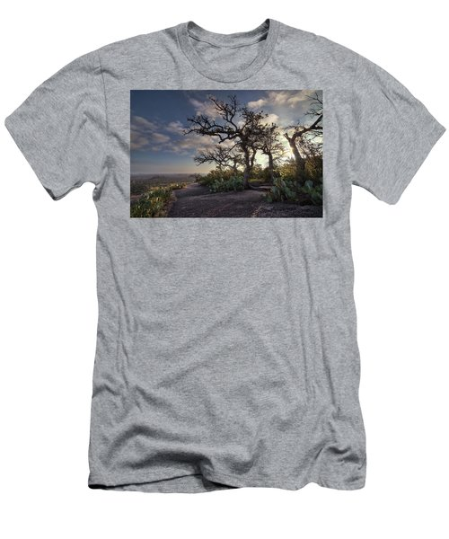 Pathway On Top Of Enchanted Rock Men's T-Shirt (Athletic Fit)