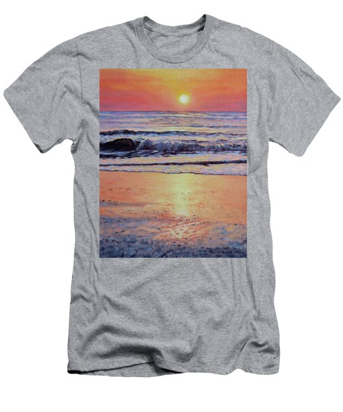 Pathway To Dawn - Outer Banks Sunrise Men's T-Shirt (Athletic Fit)
