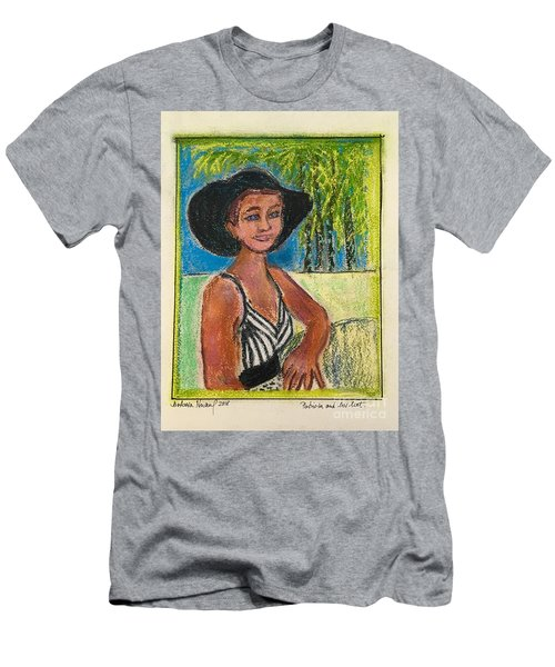 Patricia And Her Hat Men's T-Shirt (Athletic Fit)