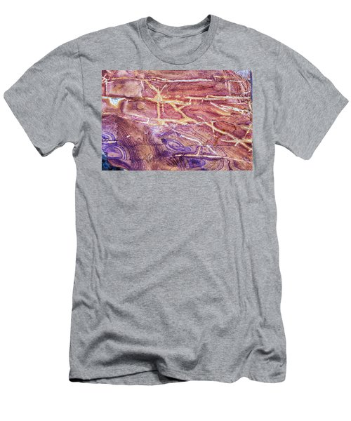 Patterns In Rock 4 Men's T-Shirt (Athletic Fit)