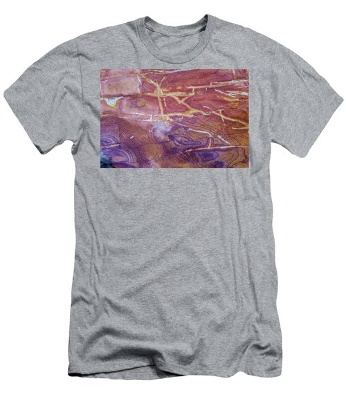 Patterns In Rock 6 Men's T-Shirt (Athletic Fit)