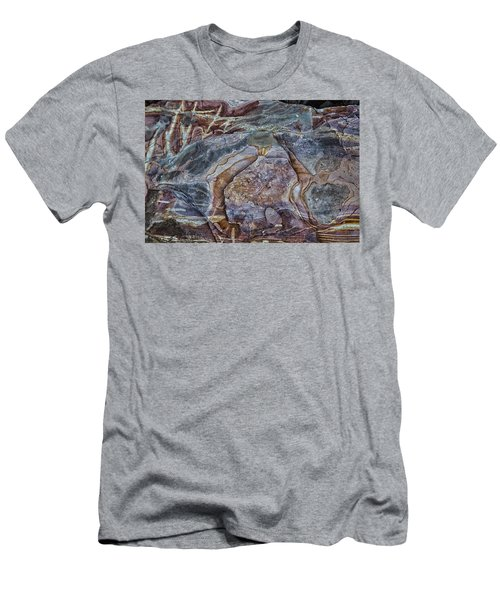 Patterns In Rock Men's T-Shirt (Athletic Fit)