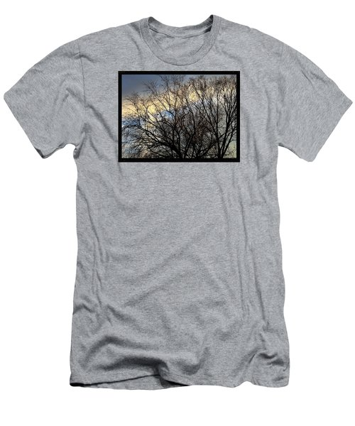 Patterns In The Sky Men's T-Shirt (Slim Fit) by Frank J Casella
