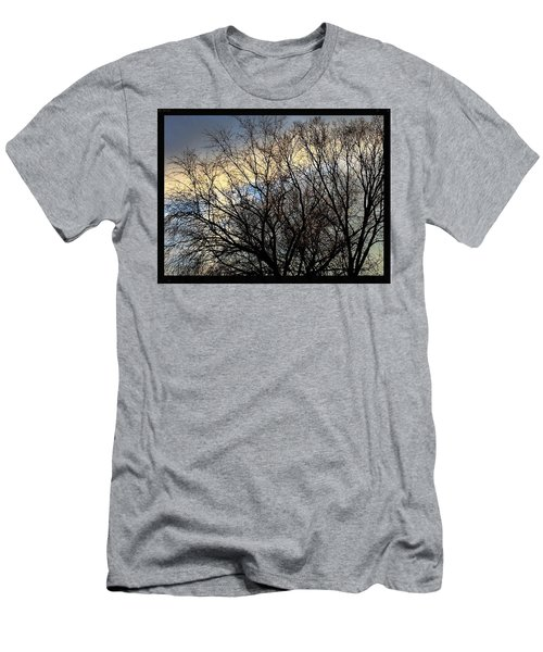 Patterns In The Sky Men's T-Shirt (Athletic Fit)